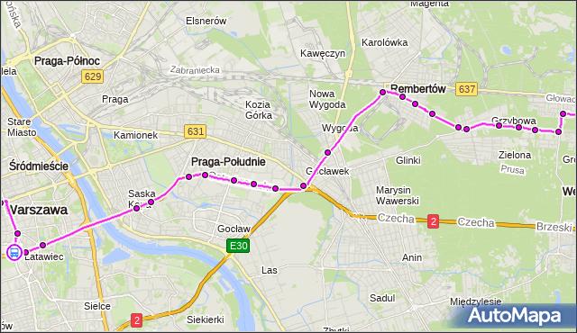 Rozkład jazdy autobusu 514 na przystanku Metro Politechnika 08. ZTM Warszawa na mapie Targeo