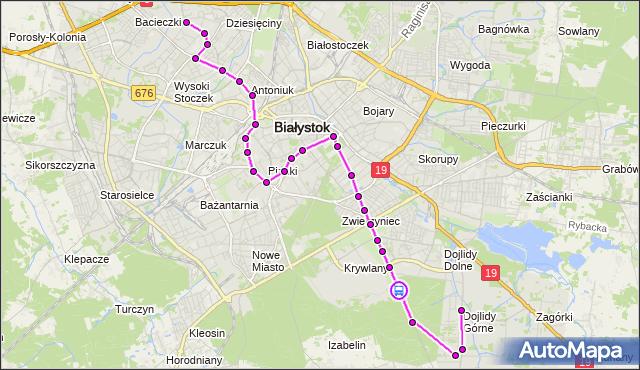 Rozkład jazdy autobusu 19 na przystanku Mickiewicza/Ogródki Działkowe. BKM na mapie Targeo