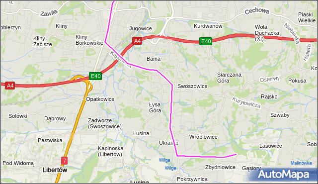 Rozkład jazdy autobusu 145 na przystanku Swoszowice Poczta. MPKKrakow na mapie Targeo