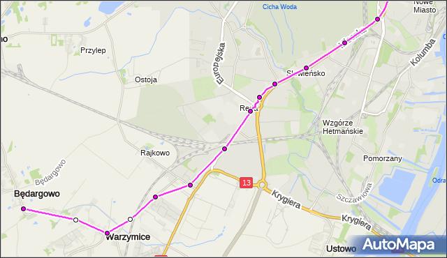Rozkład jazdy autobusu 83 na przystanku Plac Kościuszki 35. ZDiTM Szczecin na mapie Targeo