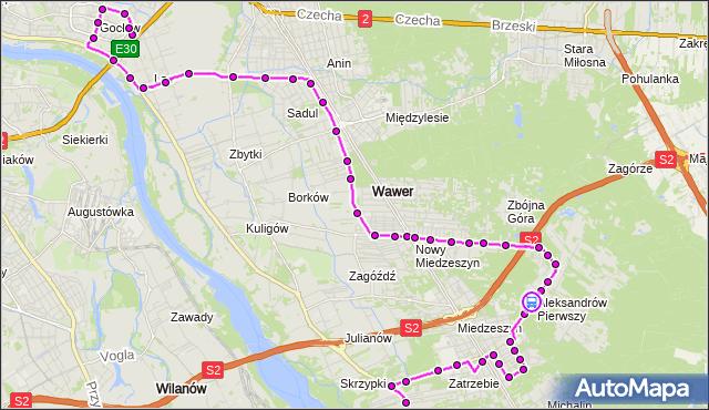 Rozkład jazdy autobusu 213 na przystanku Napoleona Bonaparte 01. ZTM Warszawa na mapie Targeo