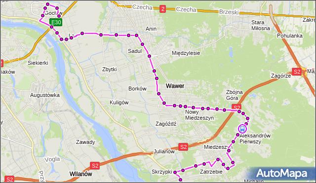 Rozkład jazdy autobusu 213 na przystanku Samorządowa 02. ZTM Warszawa na mapie Targeo