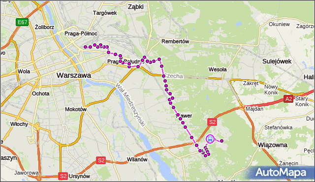 Rozkład jazdy autobusu 115 na przystanku Napoleona Bonaparte 01. ZTM Warszawa na mapie Targeo