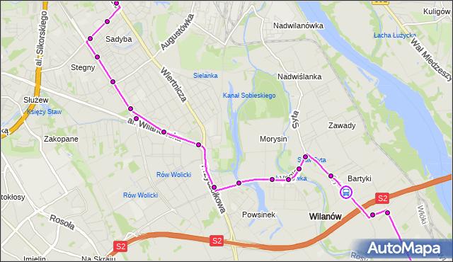 Rozkład jazdy autobusu 164 na przystanku Zawady 02. ZTM Warszawa na mapie Targeo