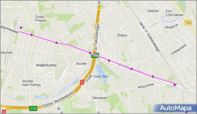 Rozkład jazdy autobusu 217 na przystanku Świątynia Opatrzności Bożej 01. ZTM Warszawa na mapie Targeo