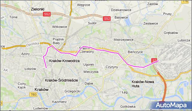 Rozkład jazdy autobusu 132 na przystanku Opolska Estakada. MPKKrakow na mapie Targeo