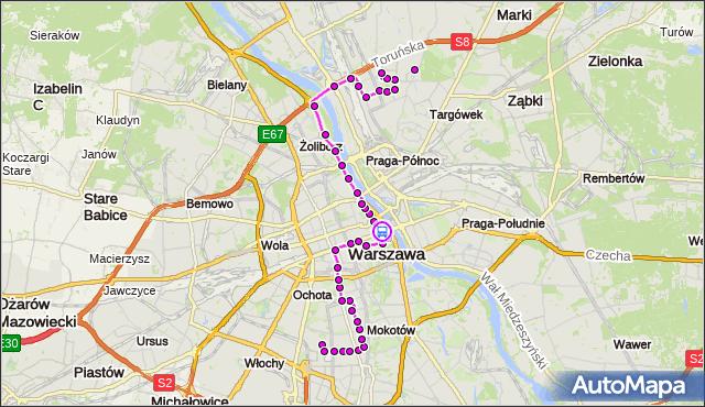 Rozkład jazdy autobusu 118 na przystanku Al. 3 Maja 02. ZTM Warszawa na mapie Targeo