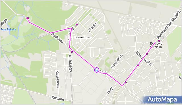 Rozkład jazdy autobusu 220 na przystanku Radiowa-WAT 01. ZTM Warszawa na mapie Targeo