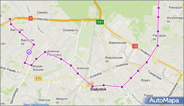 Rozkład jazdy autobusu 9 na przystanku Swobodna/Szeroka. BKM na mapie Targeo