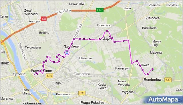 Rozkład jazdy autobusu 199 na przystanku Jórskiego 01. ZTM Warszawa na mapie Targeo