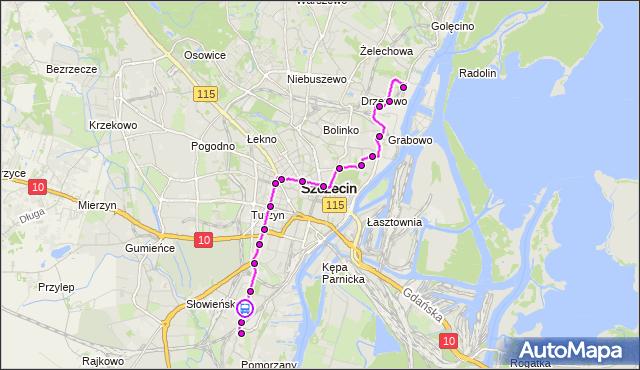 Rozkład jazdy tramwaju 11 na przystanku Szpitalna 11. ZDiTM Szczecin na mapie Targeo