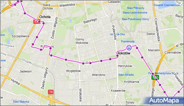 Rozkład jazdy autobusu 172 na przystanku Konduktorska 01. ZTM Warszawa na mapie Targeo