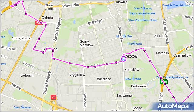 Rozkład jazdy autobusu 172 na przystanku Park Dreszera 02. ZTM Warszawa na mapie Targeo