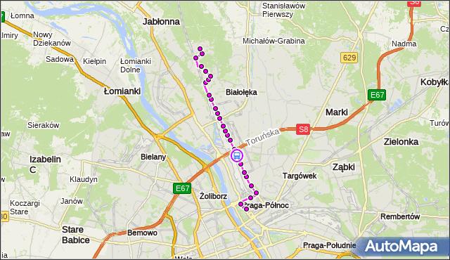 Rozkład jazdy autobusu 176 na przystanku Bazyliańska 03. ZTM Warszawa na mapie Targeo