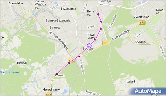 Rozkład jazdy autobusu 10 na przystanku Kawaleryjska/Zapiecek. BKM na mapie Targeo