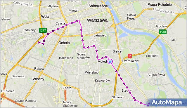 Rozkład jazdy autobusu 130 na przystanku Kostrzewskiego 02. ZTM Warszawa na mapie Targeo