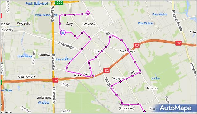 Rozkład jazdy autobusu 179 na przystanku Pięciolinii 02. ZTM Warszawa na mapie Targeo