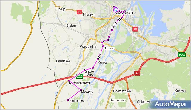 Rozkład jazdy autobusu 70 na przystanku Plac Grunwaldzki 22. ZDiTM Szczecin na mapie Targeo