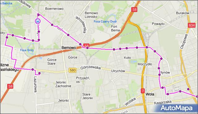 Rozkład jazdy autobusu N95 na przystanku Archimedesa 02. ZTM Warszawa na mapie Targeo