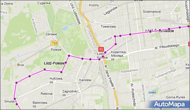 Rozkład jazdy autobusu 80 na przystanku Tuwima/Kilińskiego. MPK Łódź na mapie Targeo