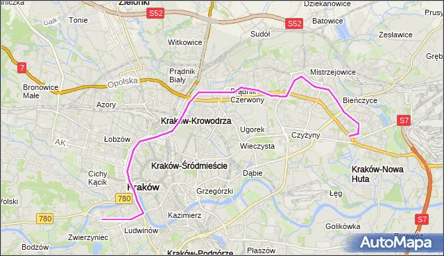 Rozkład jazdy autobusu 169 na przystanku Opolska Estakada. MPKKrakow na mapie Targeo