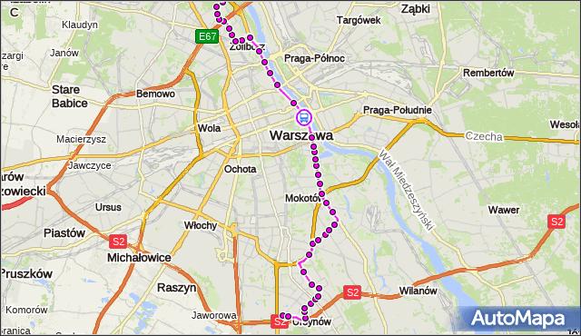 Rozkład jazdy autobusu 185 na przystanku most Poniatowskiego 06. ZTM Warszawa na mapie Targeo