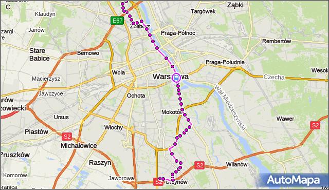 Rozkład jazdy autobusu 185 na przystanku Torwar 04. ZTM Warszawa na mapie Targeo