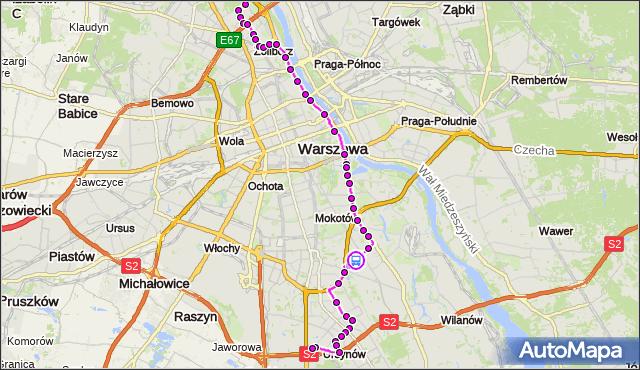 Rozkład jazdy autobusu 185 na przystanku Batumi 02. ZTM Warszawa na mapie Targeo
