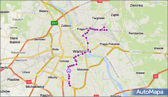Rozkład jazdy autobusu 138 na przystanku Wołoska 01. ZTM Warszawa na mapie Targeo