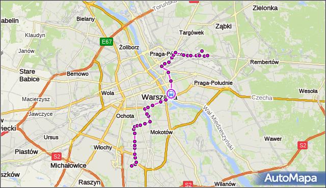 Rozkład jazdy autobusu 138 na przystanku Kryniczna 02. ZTM Warszawa na mapie Targeo