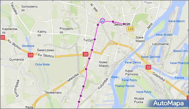 Rozkład jazdy tramwaju 12 na przystanku Plac Szarych Szeregów 13. ZDiTM Szczecin na mapie Targeo