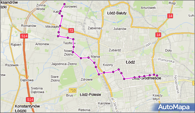 Rozkład jazdy autobusu 83 na przystanku Tuwima/Kilińskiego. MPK Łódź na mapie Targeo