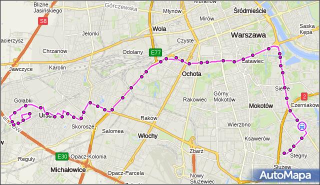 Rozkład jazdy autobusu 187 na przystanku Limanowskiego 01. ZTM Warszawa na mapie Targeo