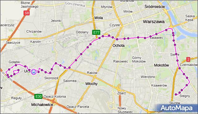 Rozkład jazdy autobusu 187 na przystanku pl.Tysiąclecia 01. ZTM Warszawa na mapie Targeo