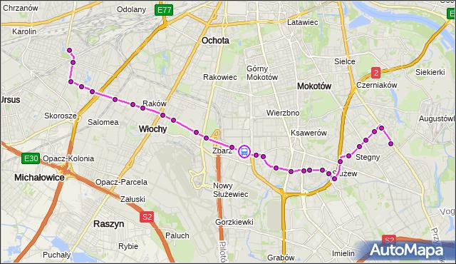 Rozkład jazdy autobusu 189 na przystanku Postępu 01. ZTM Warszawa na mapie Targeo