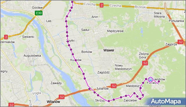 Rozkład jazdy autobusu 142 na przystanku ks.Szulczyka 02. ZTM Warszawa na mapie Targeo