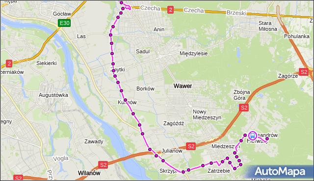 Rozkład jazdy autobusu 142 na przystanku ks.Szulczyka 01. ZTM Warszawa na mapie Targeo
