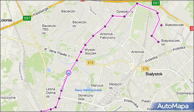 Rozkład jazdy autobusu 25 na przystanku SIKORSKIEGO/PĘTLA. BKM na mapie Targeo