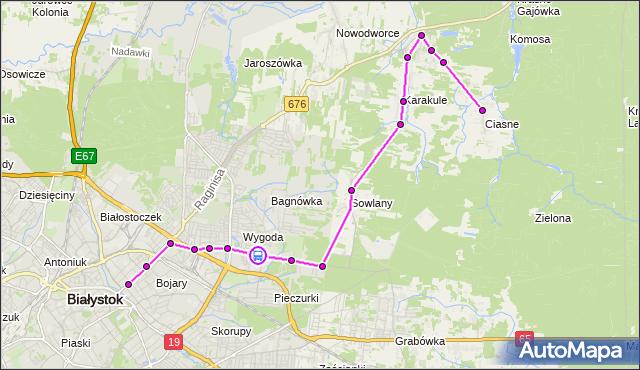 Rozkład jazdy autobusu 13 na przystanku 42. Pułku Piechoty/Brzechwy. BKM na mapie Targeo