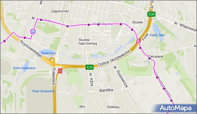 Rozkład jazdy autobusu 193 na przystanku Tarniny 02. ZTM Warszawa na mapie Targeo