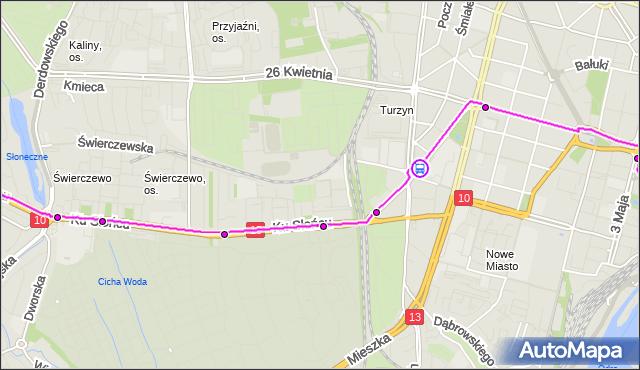 Rozkład jazdy tramwaju 8 na przystanku Sikorskiego 12. ZDiTM Szczecin na mapie Targeo