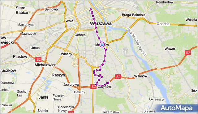 Rozkład jazdy autobusu 195 na przystanku Kostrzewskiego 01. ZTM Warszawa na mapie Targeo