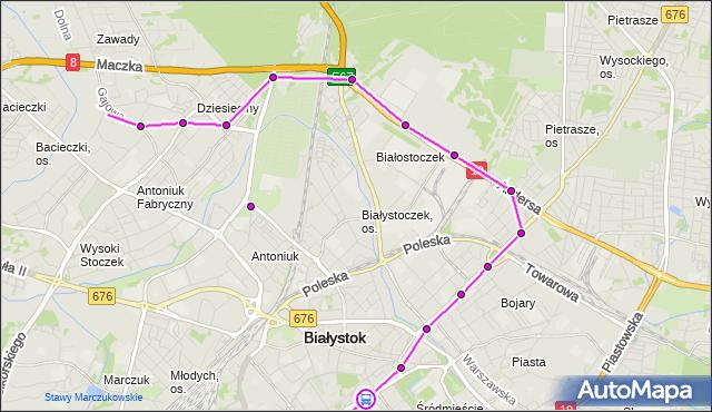 Rozkład jazdy autobusu 16 na przystanku LEGIONOWA/SZKOŁA. BKM na mapie Targeo