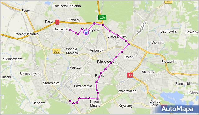 Rozkład jazdy autobusu 16 na przystanku Gen. J.Hallera/Dziesięciny Pętla. BKM na mapie Targeo