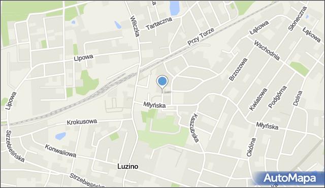 Luzino, 3 Maja, mapa Luzino