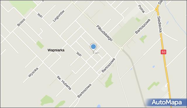 Sokołów Podlaski, 3 Maja, mapa Sokołów Podlaski