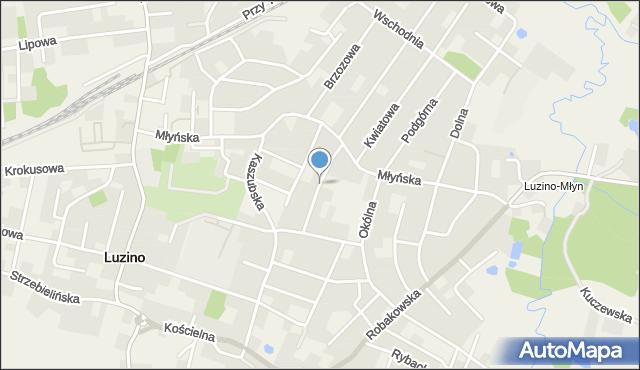 Luzino, Abrahama, mapa Luzino