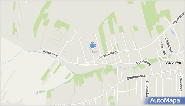 Rzeszów, Agrestowa, mapa Rzeszów