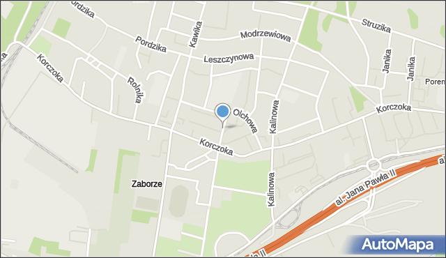 Zabrze, Agrestowa, mapa Zabrza