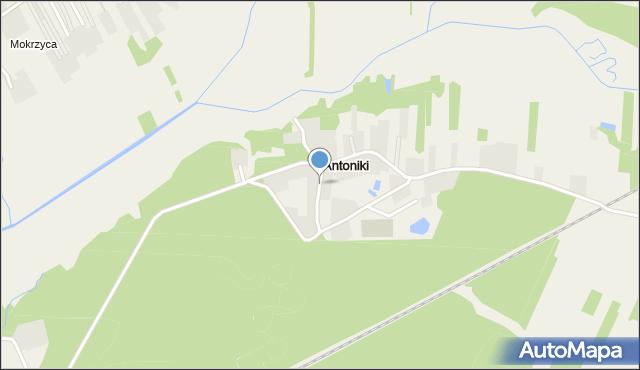 Antoniki, Antoniki, mapa Antoniki